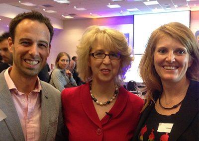 Chris, Jill Fielding and Karene
