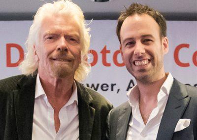 Richard Branson and Chris