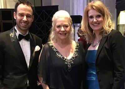 Chris, Sharon Lechter and Karene